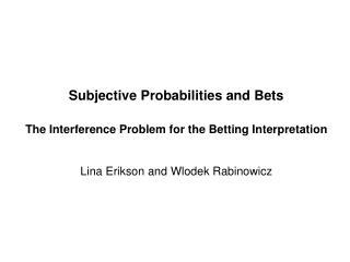 A_Fundamental_Problem_for_the_Betting_Interpretation_6_04_2010
