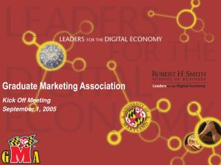 Graduate Marketing Association