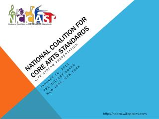 National Coalition for Core Arts Standards