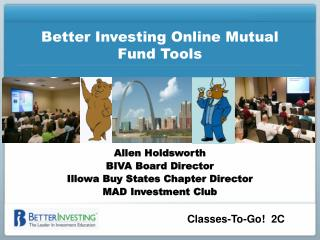 Better Investing Online Mutual Fund Tools