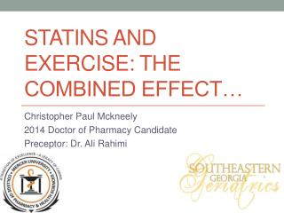 Statins and exercise: the combined effect…