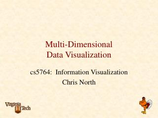 Multi-Dimensional  Data Visualization