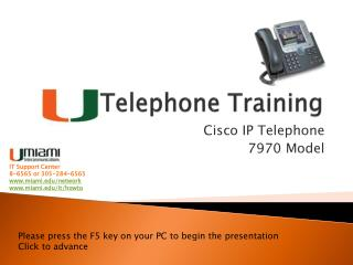 Telephone Training