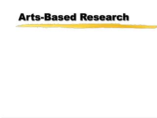 Arts-Based Research