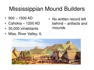 history of mississippian mound builders