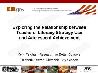 Exploring the Relationship between Teachers' Literacy Strategy Use and Adolescent Achievement