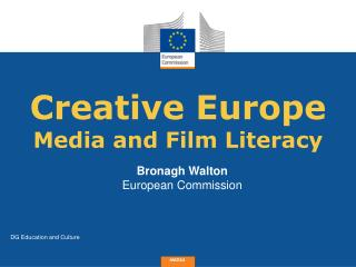 Creative  Europe Media and Film Literacy