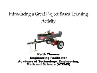 Introducing a Great Project Based Learning Activity