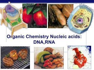 Organic Chemistry Nucleic acids: DNA,RNA