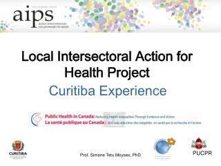 Local Intersectoral Action for Health Project