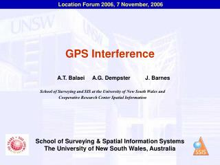 GPS Interference