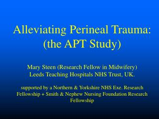 Perineal Injury
