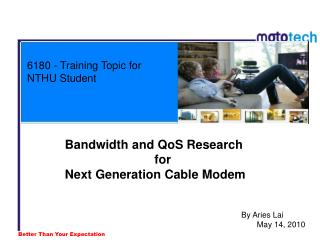 6180 - Training Topic for NTHU Student