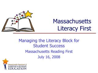 Massachusetts  Literacy First