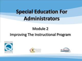 Special Education For Administrators