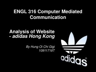 ENGL 316 Computer Mediated Communication
