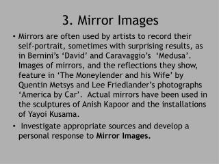 3. Mirror Images