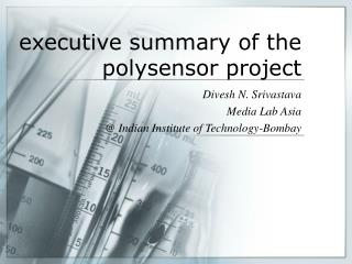 executive summary of the polysensor project