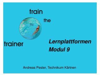 Lernplattformen Modul 9