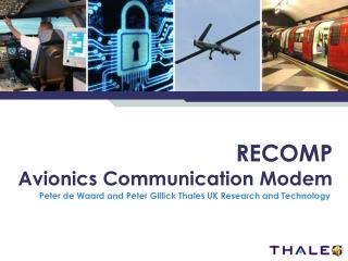 RECOMP Avionics Communication Modem