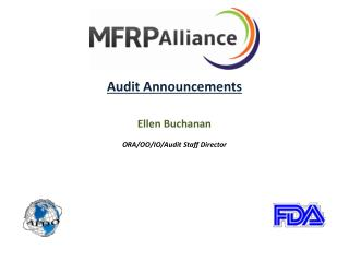 Audit Announcements