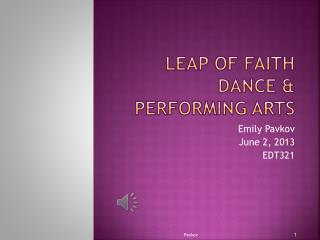 Leap of Faith Dance & Performing Arts