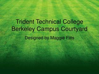 Trident Technical College Berkeley Campus Courtyard