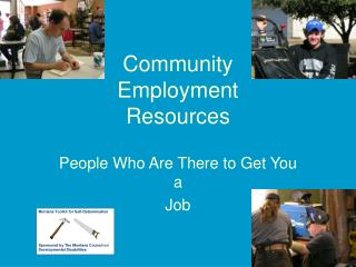 Community Employment Resources