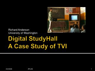 Digital  StudyHall A Case Study of TVI