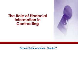 The Role of Financial Information in Contracting