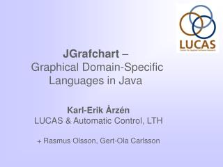 JGrafchart  –  Graphical Domain-Specific Languages in Java