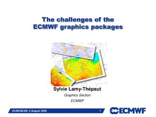 The challenges of the  ECMWF graphics packages