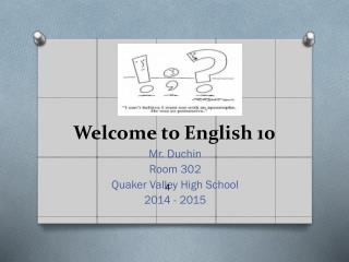 afuntab Welcome to English 10
