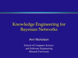 Knowledge Engineering for Bayesian Networks
