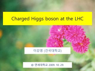 Charged Higgs boson at the LHC