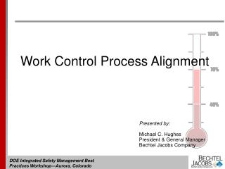Work Control Process Alignment