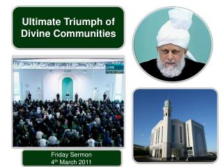 Friday Sermon 4 th March 2011