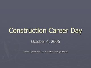 Construction Career Day