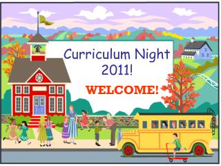 Curriculum Night 2011!