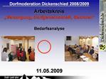 Dorfmoderation Dickenschied 2008