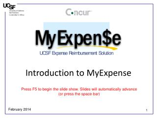 Introduction to MyExpense