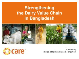 Strengthening  the Dairy Value Chain  in Bangladesh