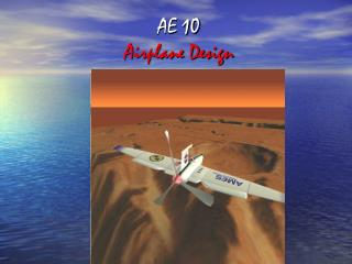AE  10 Airplane Design