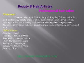 Hair Salon| Keratin Treatment| Special Occasion Hair Style|