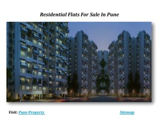 Residential Apartments For Sale In Pune
