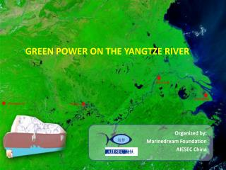 GREEN POWER ON THE YANGTZE RIVER