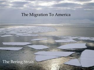 The Migration To America