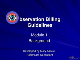 bservation Billing  Guidelines