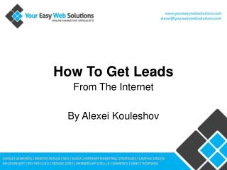 How To Get Leads