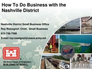 How To Do Business with the Nashville District